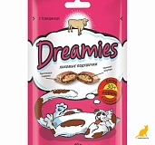 Вискас DREAMIES 60г с говядиной (6) сухой